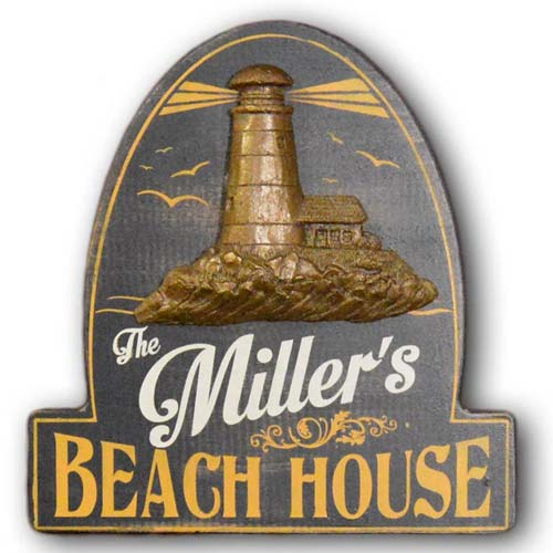 Beach House Personalized Sign - Gifts for Her