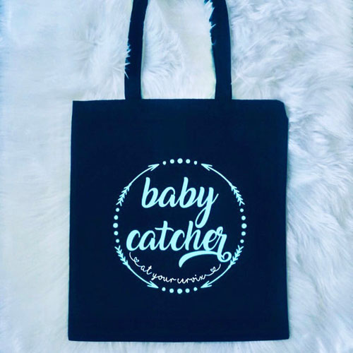 Custom tote bag for OB/GYN