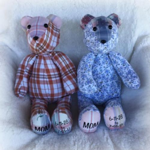 Memory Bear Sympathy Gift Idea
