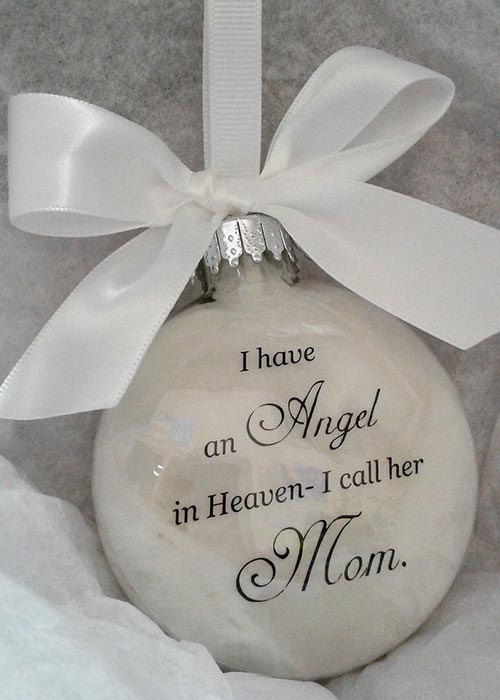 Angel Ornament Sympathy Gift