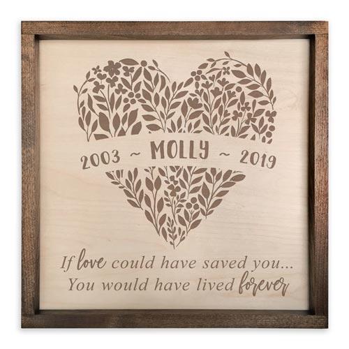 Memorial Plaque Sympathy Gift