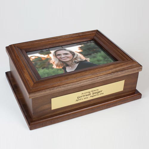 Unique Sympathy Gifts: Personalized Keepsake Box