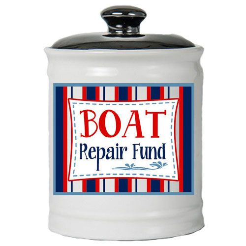 Boat Repair Fund Jar
