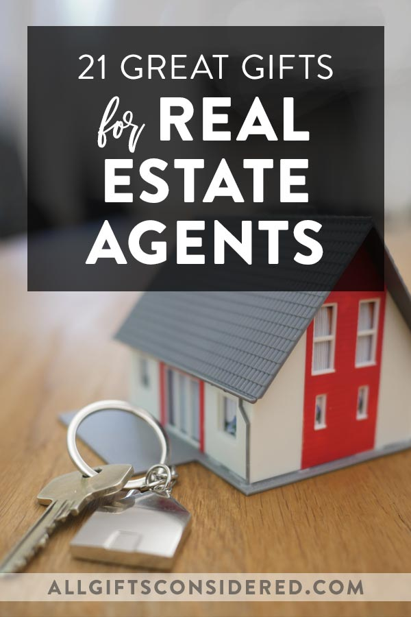 Real Estate Agent Gift Ideas