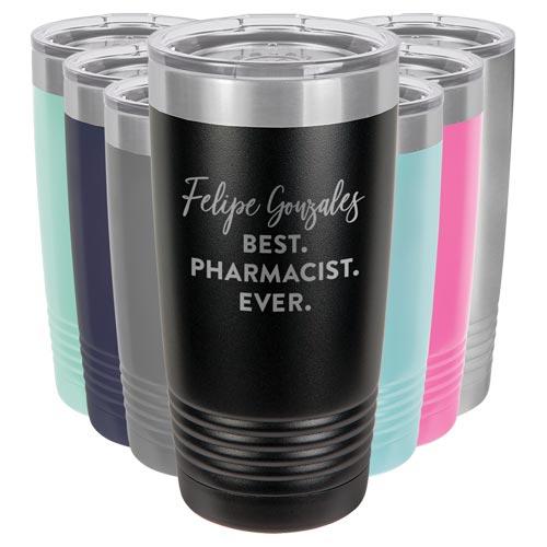 Personalized Tumbler Mug Pharmacist Gift Idea