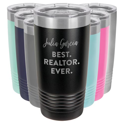 Personalized Realtor Tumbler