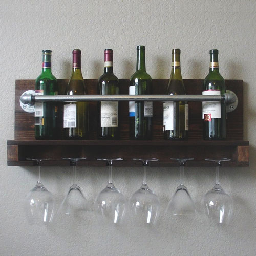 Handcrafted Wine Rack - Mens Christmas Gift Ideas