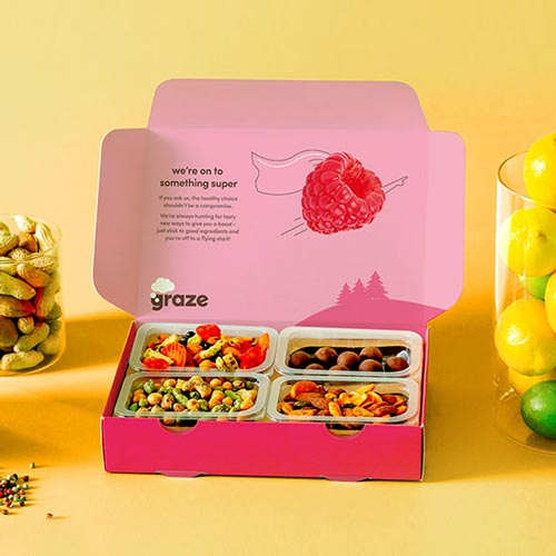 Graze Subscription Box Food Gifts for Doctors