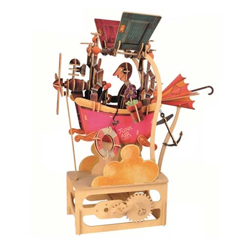 Junk Creation Automata Kit