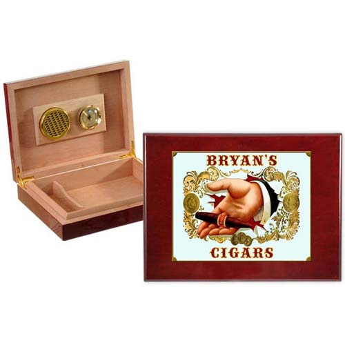 Gifts for the Impossible Man: Personalized Humidor