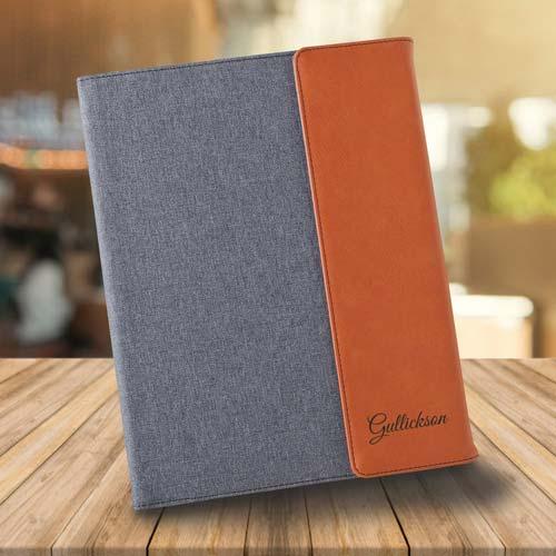 Real Estate Agent Gift Idea - Personalized Portfolio & Planner
