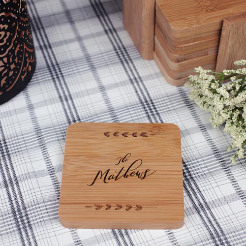 Personalized Coaster Set Hostess Gifts