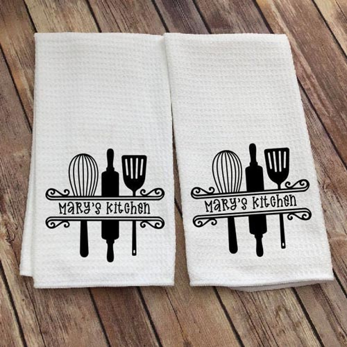 Inexpensive Hostess Gifts - Dish Towels