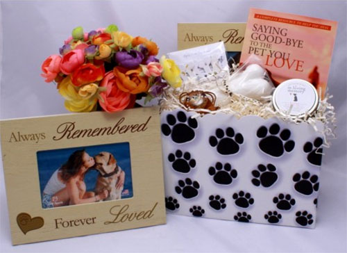 Dog Lover Sympathy Gift Basket