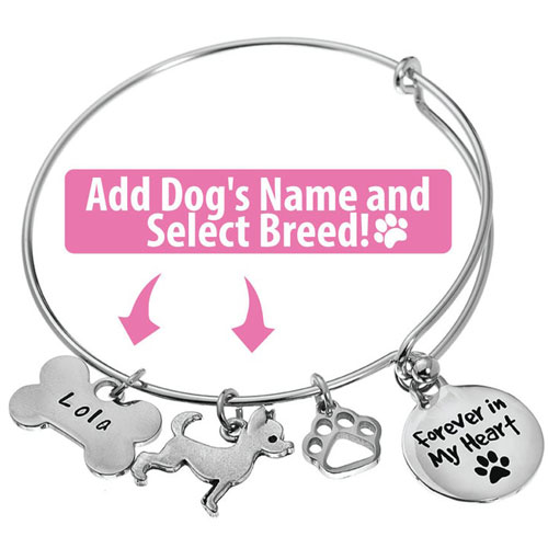 Personalized Dog Memory Bracelet