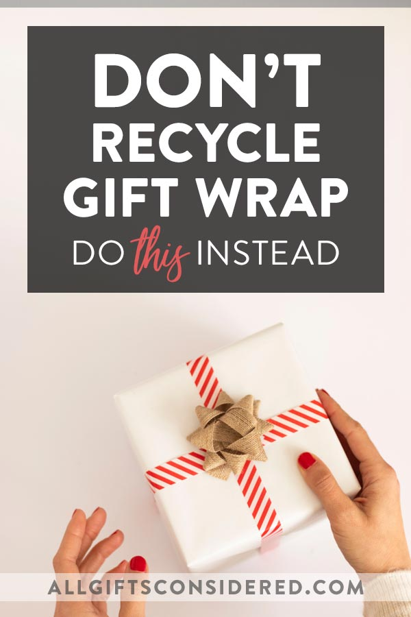 Recycle Gift Wrap Ideas