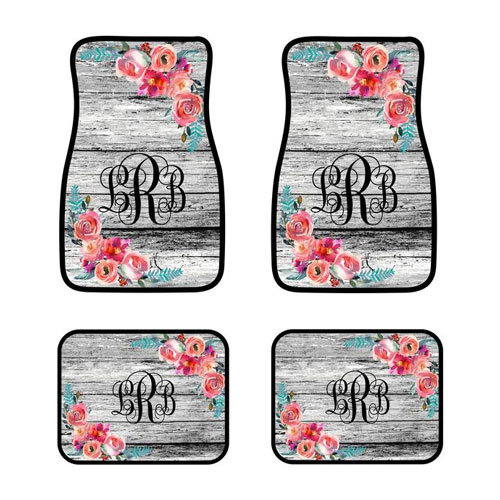 Gifts for Car Lovers - Personalized Car Mats