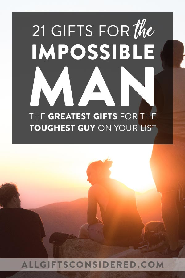 Gifts for Impossible Man