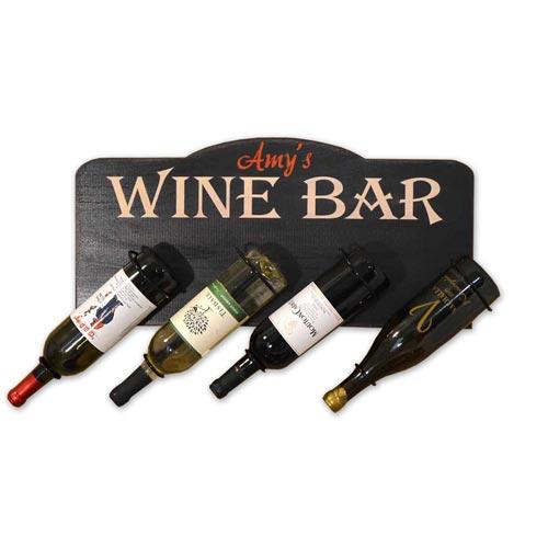 Custom Wine Bottle Plaque