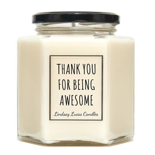 Neighbor Thank-You Gifts - Candle