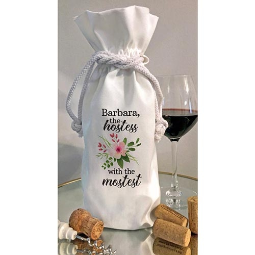 Hostess with the Mostest Wine Bag