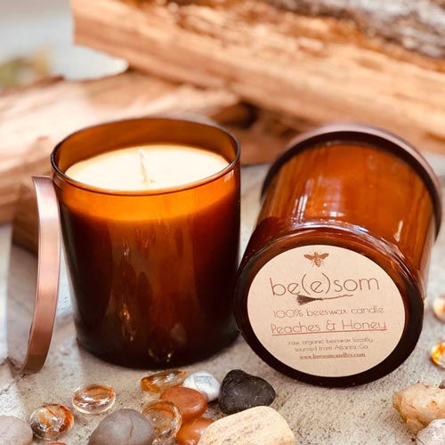 Creative Gifts for Hostesses: Organic Candles