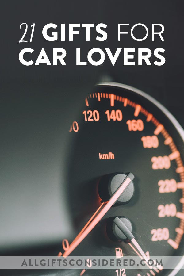 Gift Ideas for Car Enthusiasts