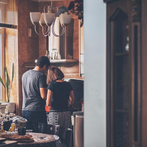 Couple's Cooking Class Romantic Gift Idea