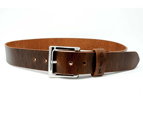 "Practical Gifts - ""Buy it for life"" leather belt"