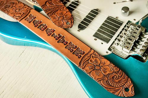 Gifts for Country Music Lovers - Custom Guitar Strap
