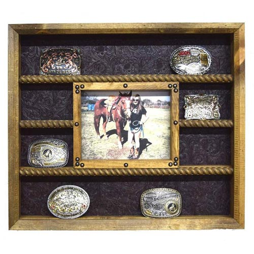 Gifts for Ranchers: Belt Buckle Display