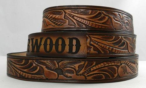 Custom Leather Belt