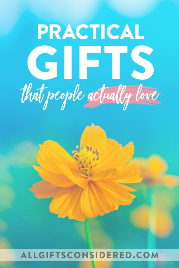 Practical Gifts that People Love