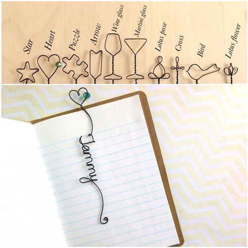 Top Guy's Valentine's Day Gifts - Personalized Bookmark
