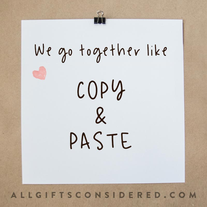 "Best ""We Go Together Like"" Quotes"