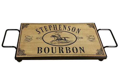 Best Gifts for Bourbon Lovers - Serving Tray