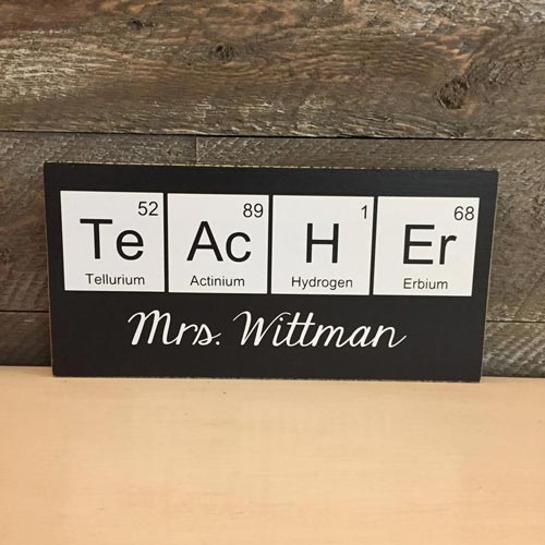 Chemistry Gifts for Science Teachers