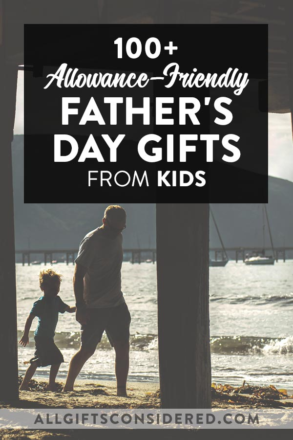 Father's Day Gifts from Kids (on a budget)