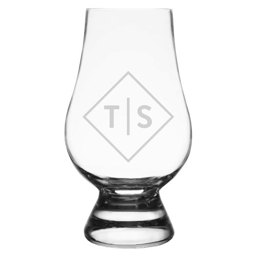 Personalized Glencairn Bourbon Glass