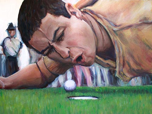 Golf Gift Ideas: Pop Art Painting