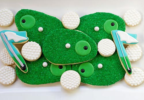 Simple & Tasty Golf Cookies