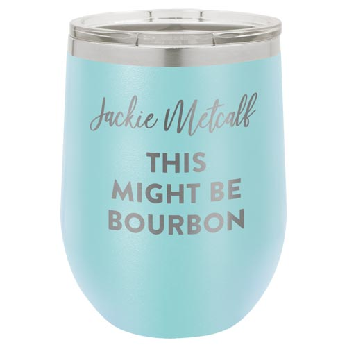 Personalized Travel Tumbler for Bourbon