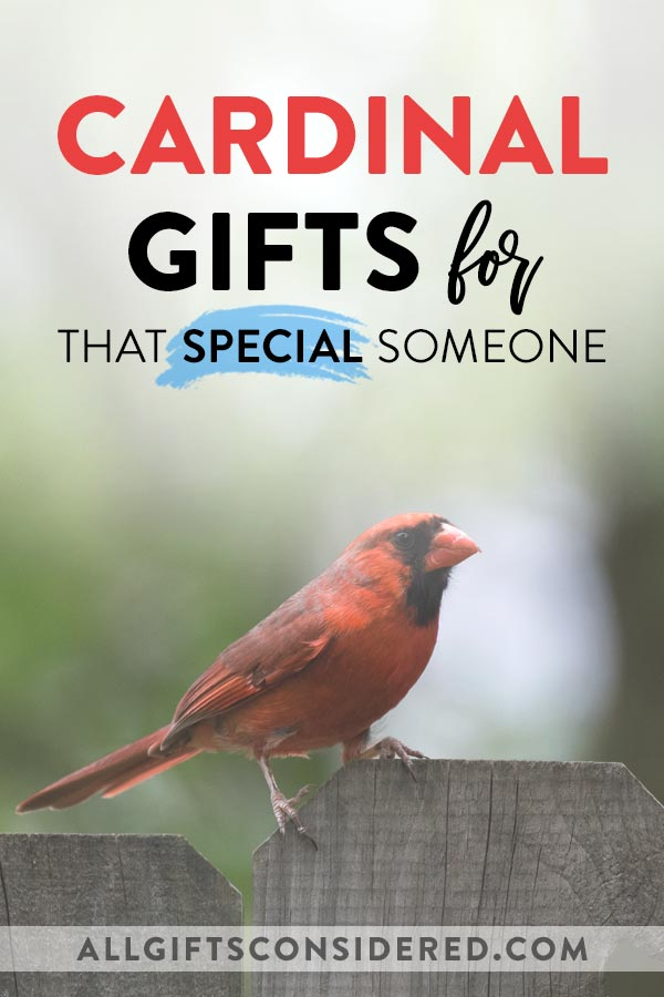 Special Gifts for Cardinal Lovers