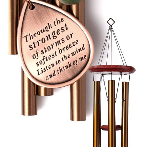 Memorial Wind Chimes Sympathy Gift