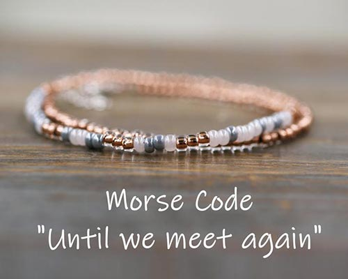 Sympathy Gifts for Parents - Personalized Memorial Bracelet