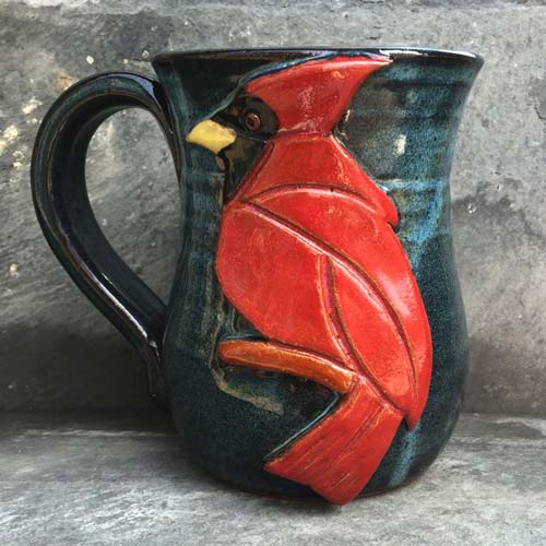 Cardinal Art Coffee Mug