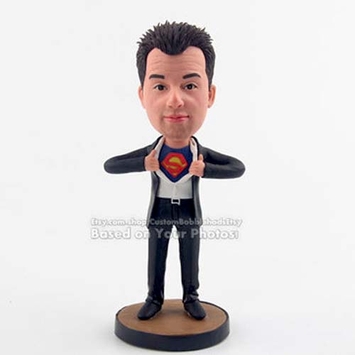 Superman Bobble Head Doll for the Person Who Has Everything