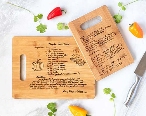 Practical Mother's Day Gifts - Cutting Board