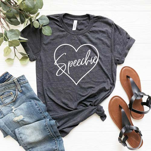 Gifts for SLPs - Speechie T-Shirt