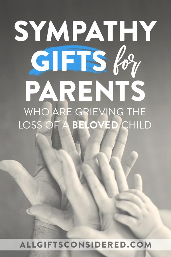 Bereavement Gifts for Parents - All
